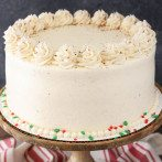 Eggnog Cake