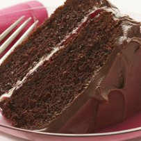 Dubbele Chocolade cake met Frambozen vulling