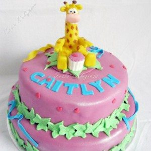 Giraffe taart