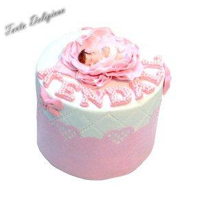 Geboorte taart Kendall