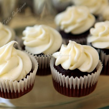 Dubbele Chocolade Cupcakes