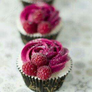 Cupcake framboos