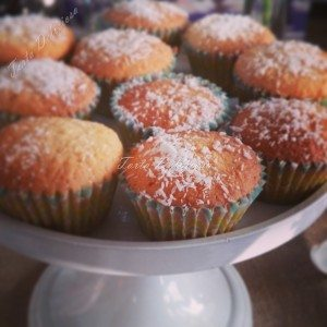 mini cupcake kokos