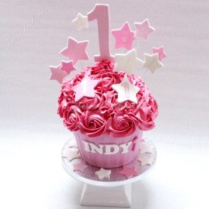 Giant Cupcake taart