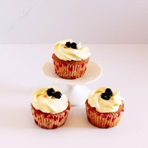 Cupcake bosbessen