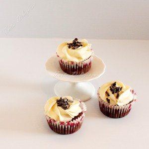Cupcake dubbel chocolade