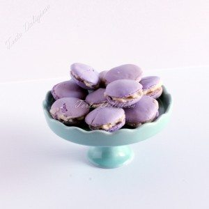 Macaron bosbes