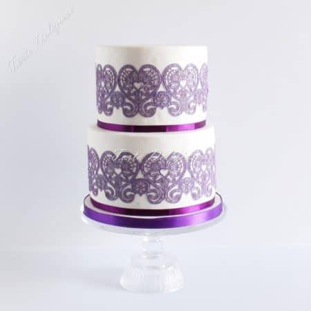 Bruidstaarten torta deliziosa for Eetbaar goud