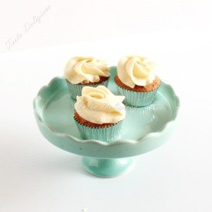 mini cupcake vanilla buttercream