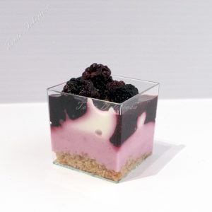 Mini desserts Cheesecake