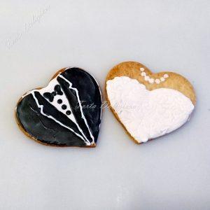 Bruid en Bruidegom koekje