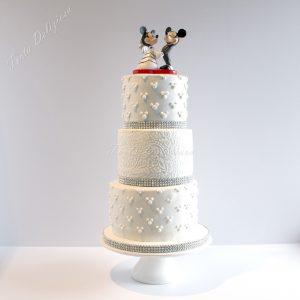 Bruidstaart Mickey en Minnie Mouse Disney