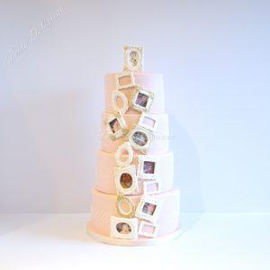 Bruidstaart memories fotolijstjes