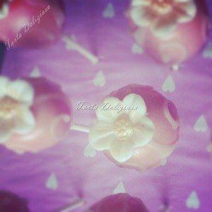 Cakepop met bloem