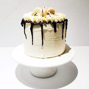Meringue creme cake - Cappucino caramel